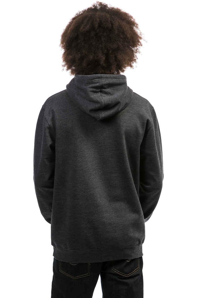 Cleptomanicx Möwe Tonal Hoodie (heather black)