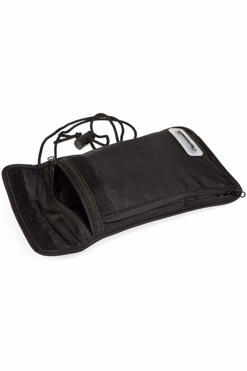 Cleptomanicx Neck Pouch Bag (black)