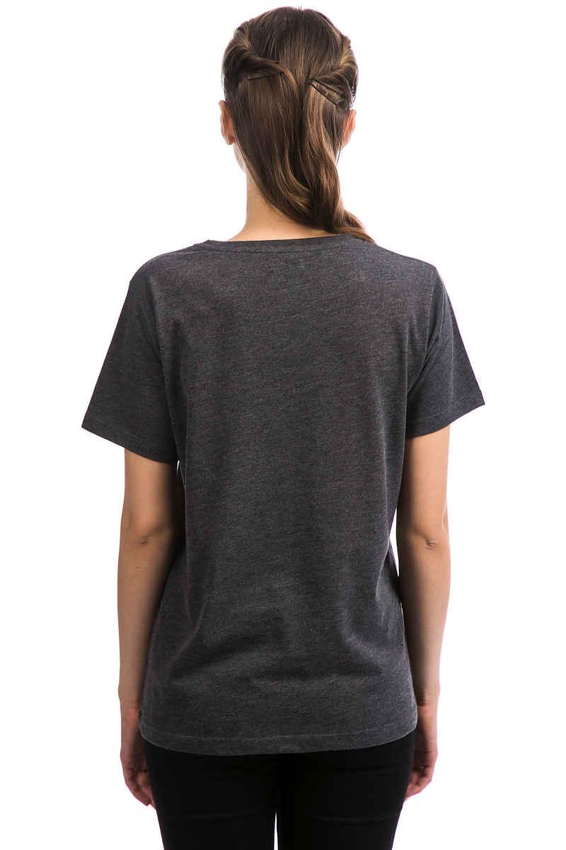 Cleptomanicx Möwe T-Shirt women (heather black black)