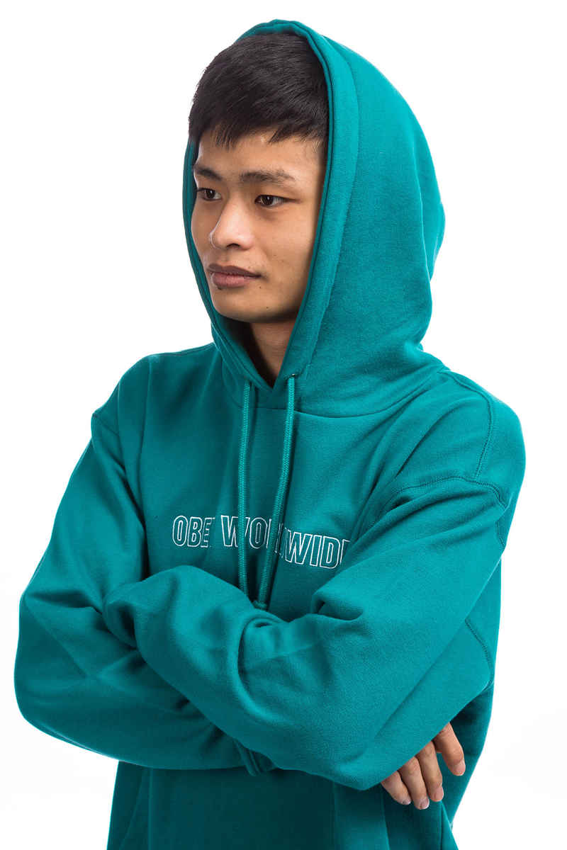 Obey Automatic Hoodie (teal)