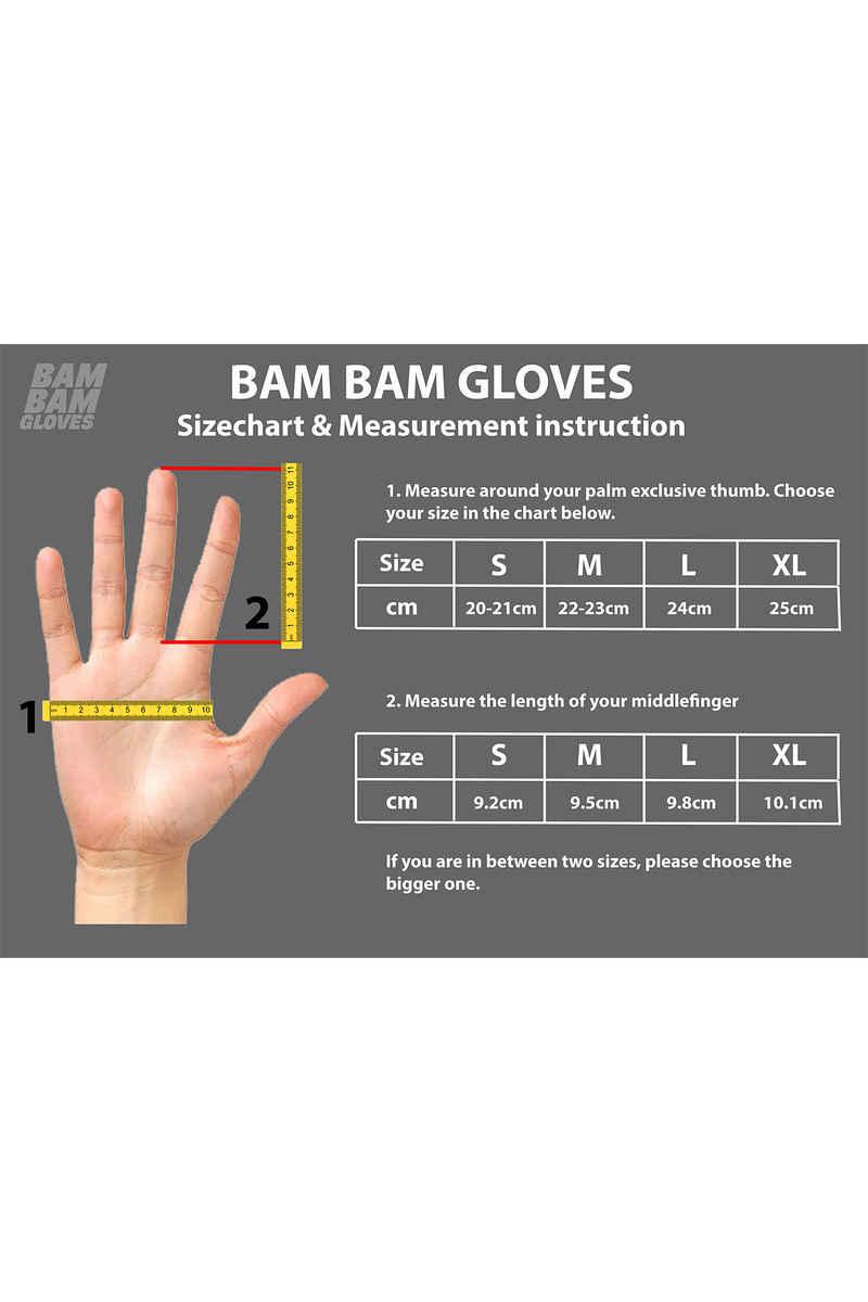 Bam Bam Skate Textile Hand Bescherming (red)