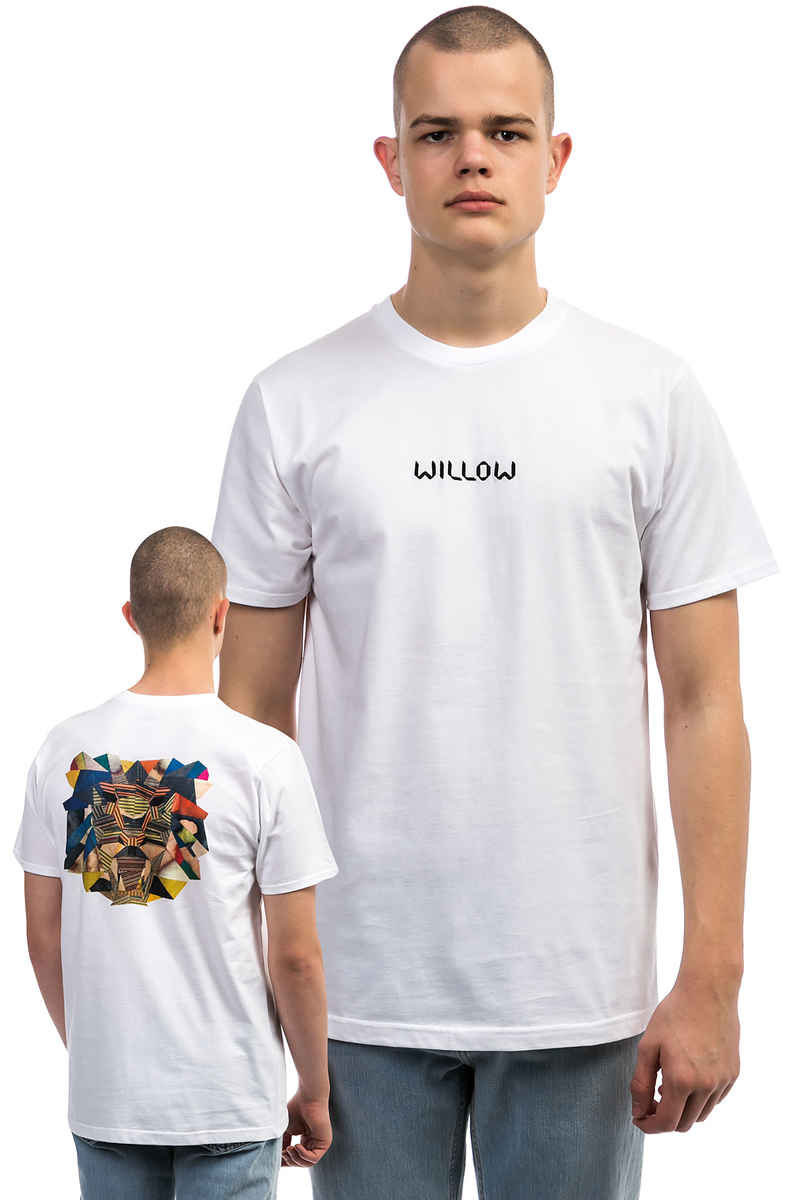 WILLOW Woodwork T-Shirt (white)