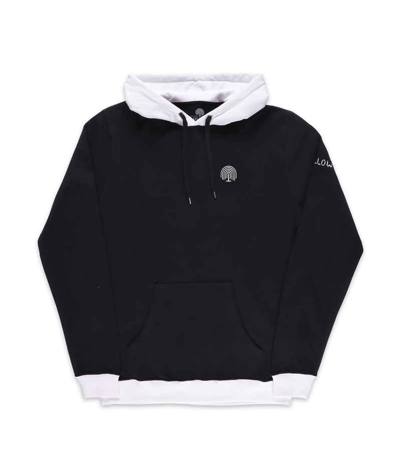 WILLOW Classic Hoodie (white black)
