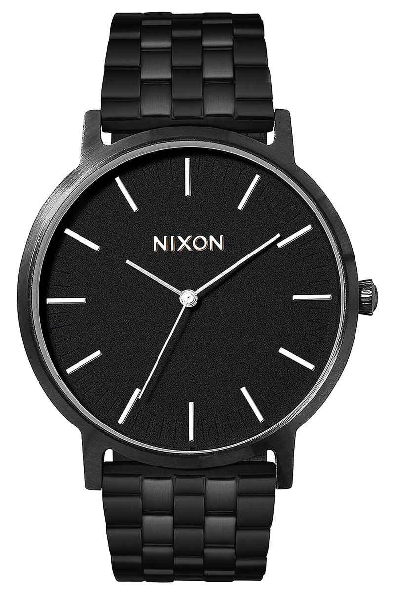 Nixon The Porter Uhr (all black white)