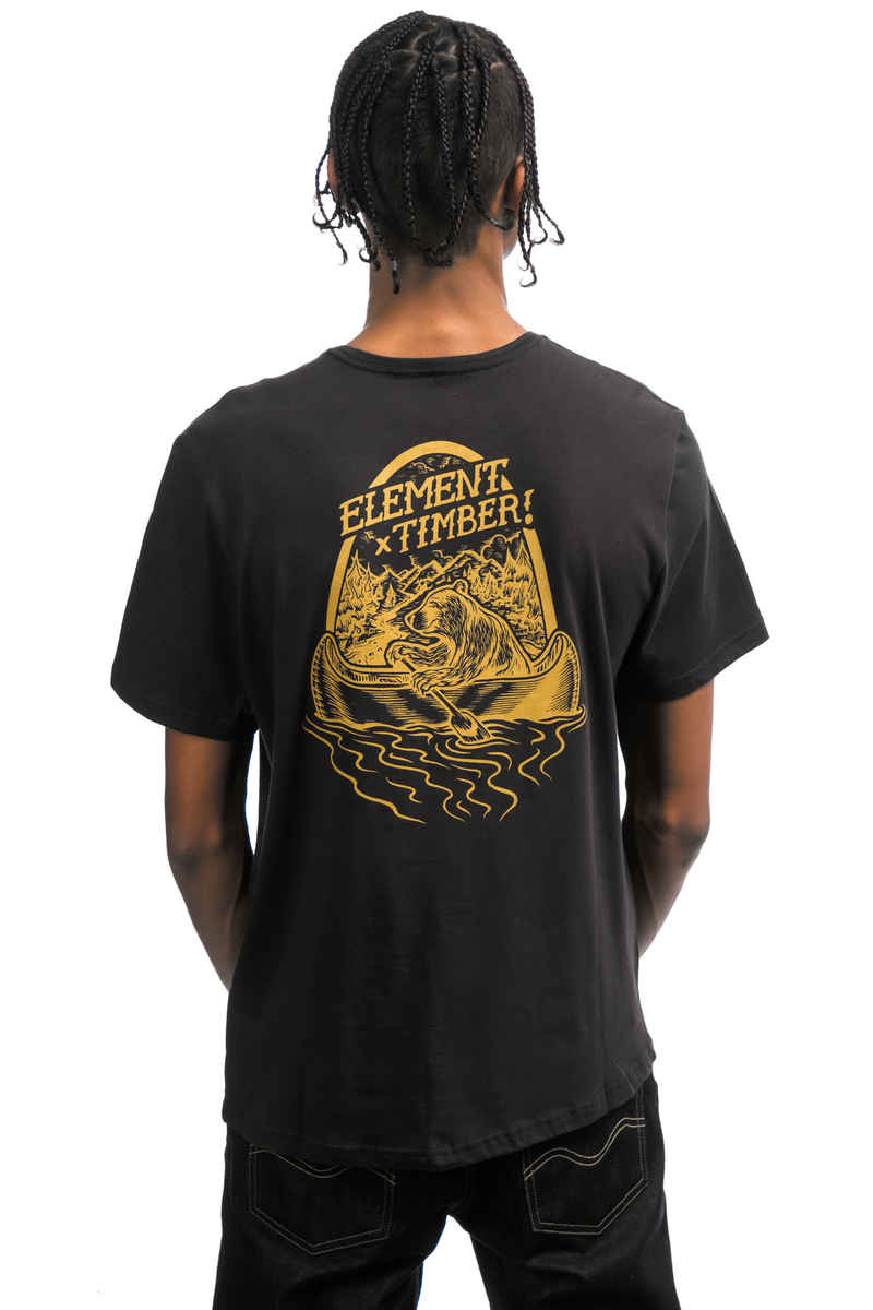 Element Roar N Row T-Shirt (off black)