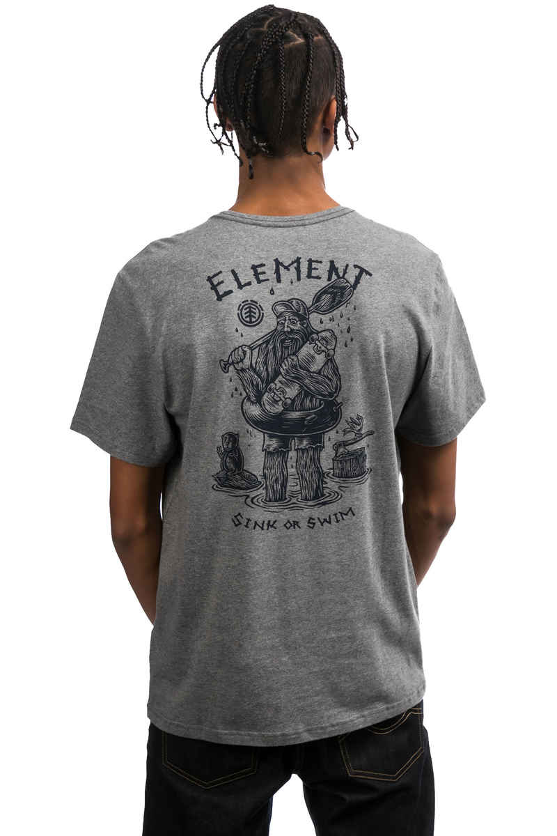 Element River Keeper Camiseta (grey heather)