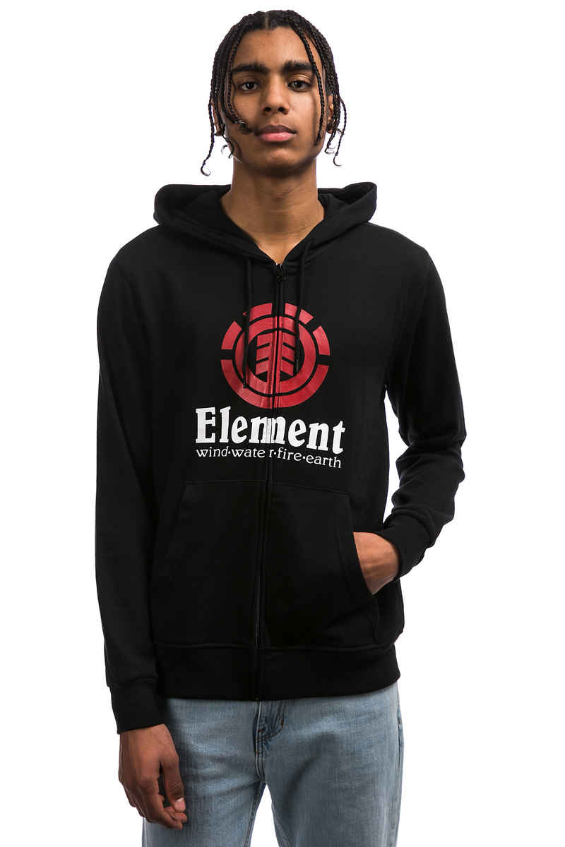Element Vertical Sudadera con cremallera (flint black)