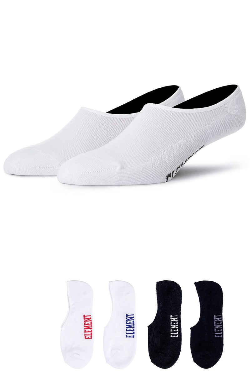 Element Low-Rise Socks US 7,5-12  (multicolor) 5 Pack