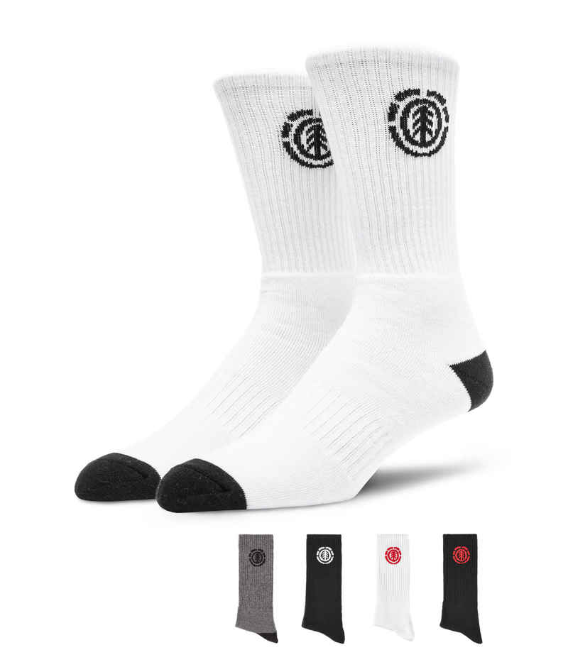 Element High-Rise Socken US 7,5-12 (multicolor) 5er Pack
