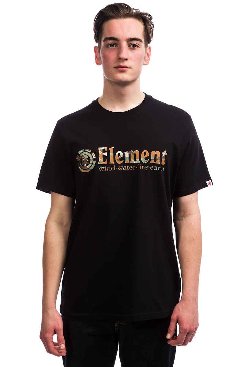 Element Horizontal Fill T-Shirt (flint black)