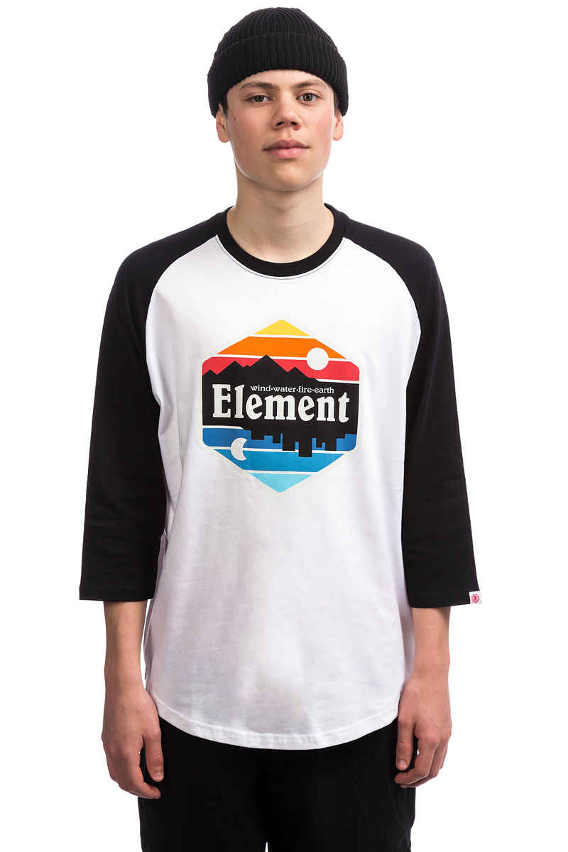 Element Dusk Raglan Longsleeve (optic white)