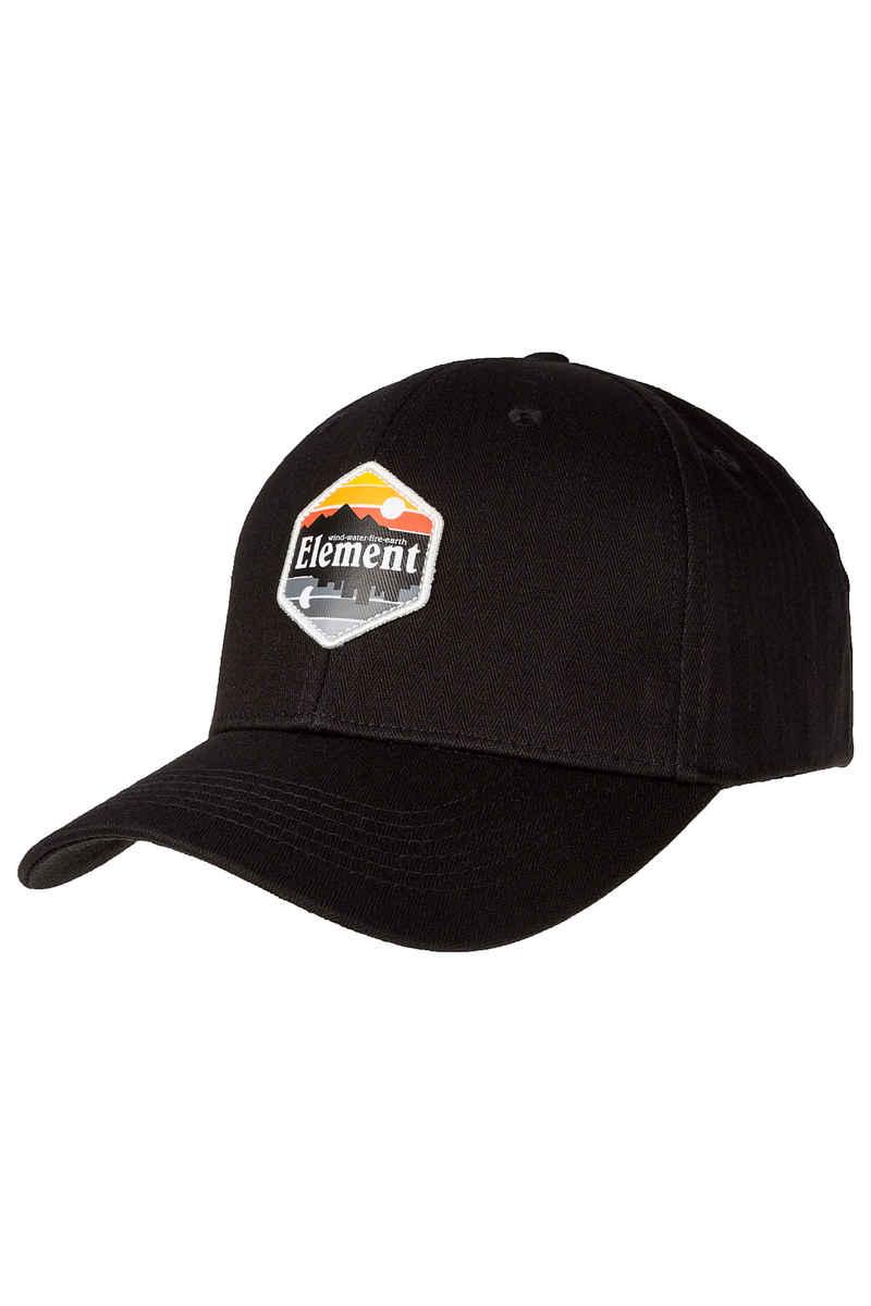 Element Camp II Snapback Cap (original black)