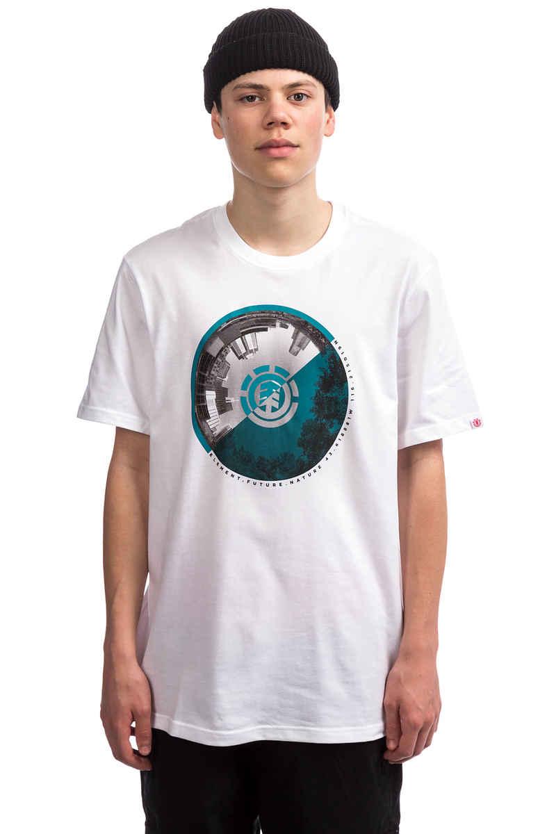 Element HORIZONTAL FILL - Camiseta print - optic white 6tJMyoCPd