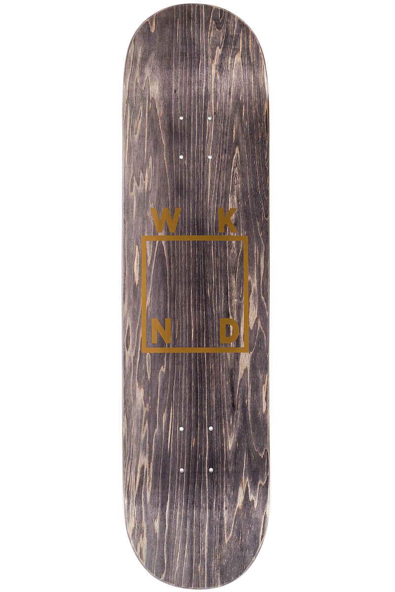 """WKND Gold Logo 8.5"""" Deck (black)"""