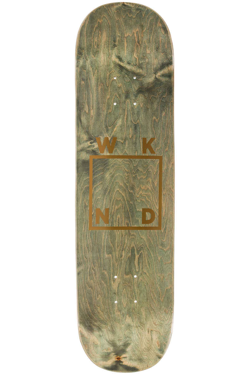 "WKND Gold Logo 8.25"" Tabla (green)"