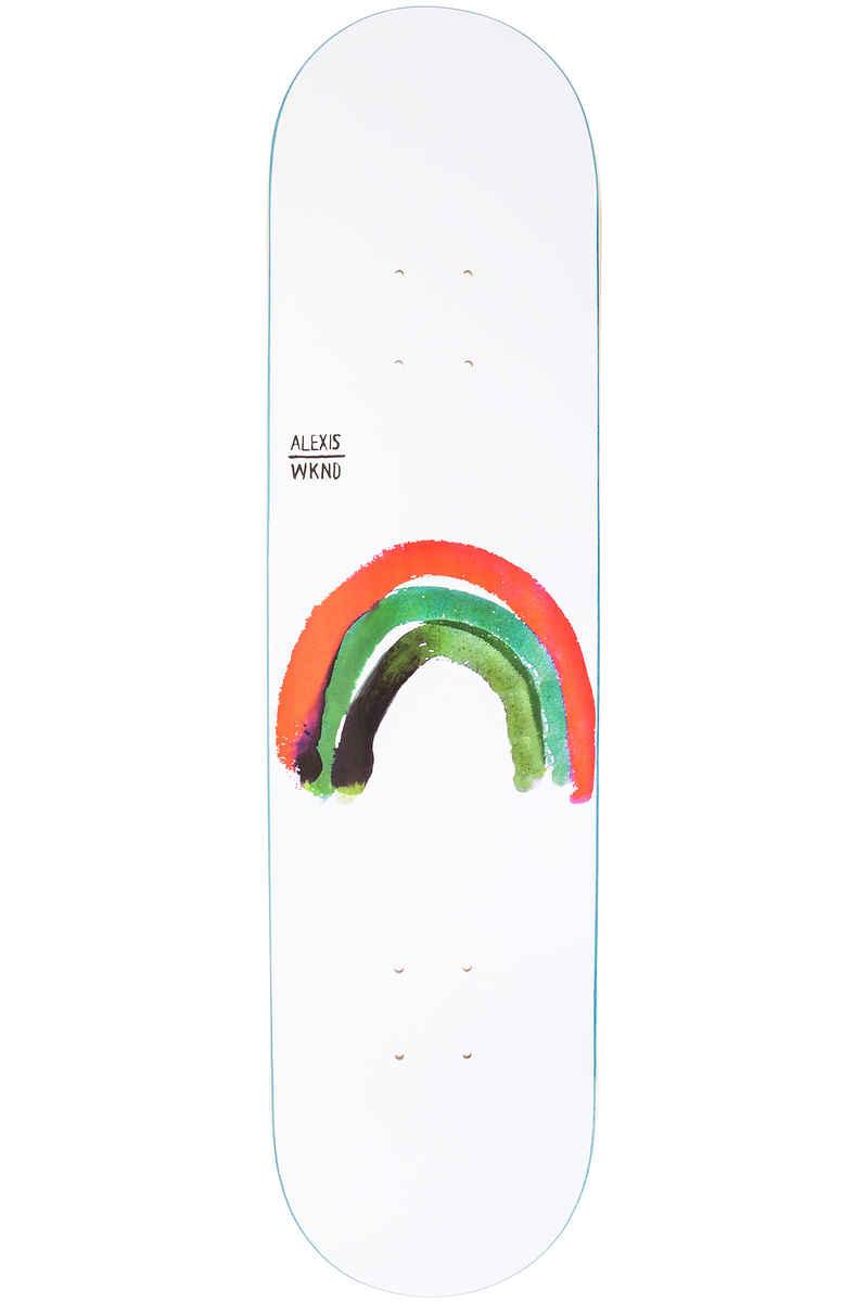 """WKND Sablone Rainbow 8"""" Deck (white)"""