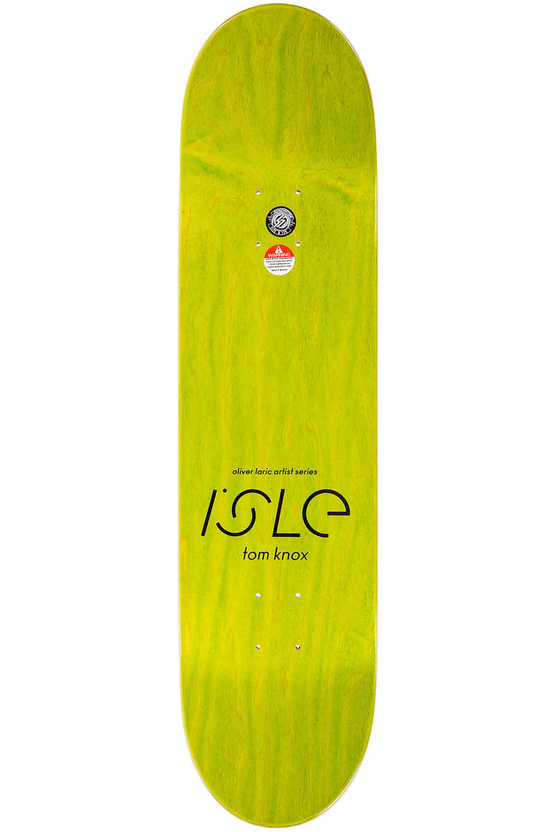 "Isle Skateboards Knox Kopienkritik 8.125"" Deck (multi)"
