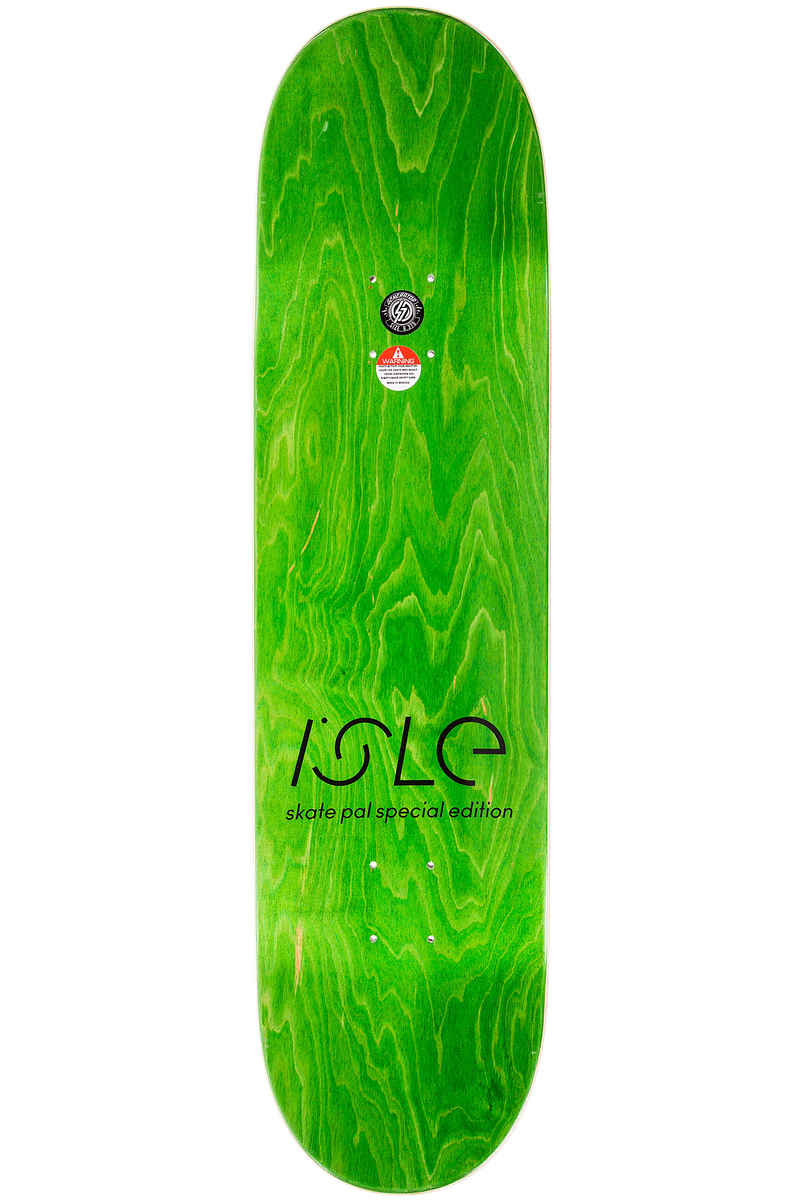 "Isle Skateboards Pal Curiosities 8.375"" Tavola"