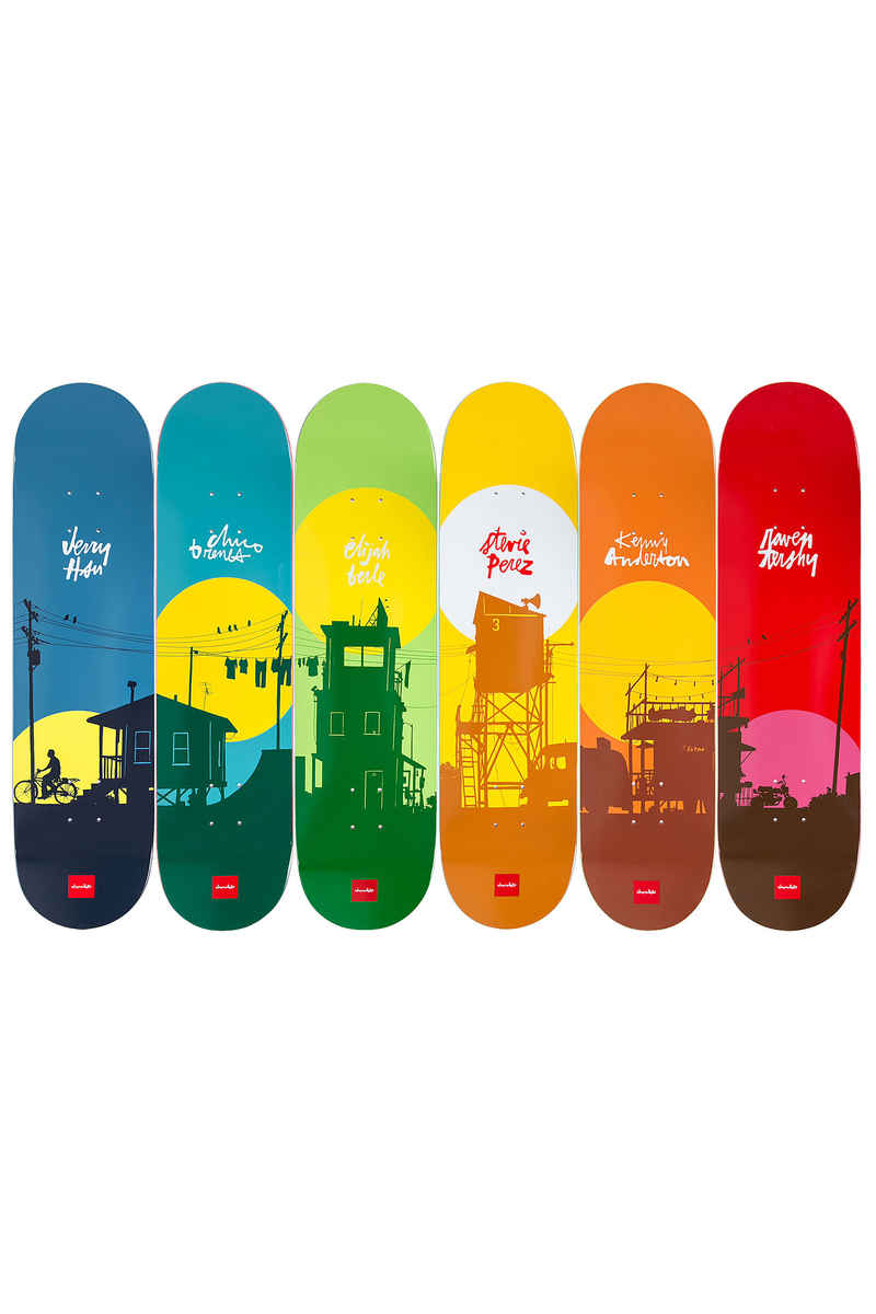 "Chocolate Tershy Sun 8.5"" Deck (red)"