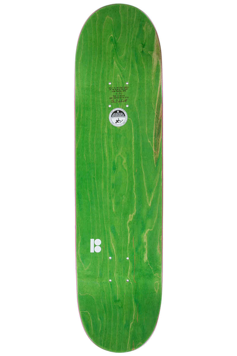 "Plan B Team Blood Shot 8.25"" Planche Skate (purple)"
