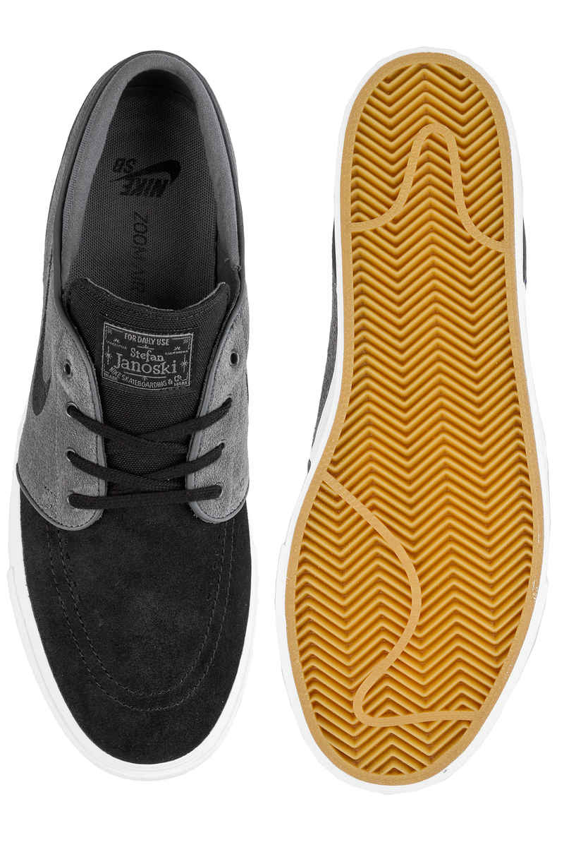 Nike SB Zoom Stefan Janoski Shoes (dark grey black summit white)