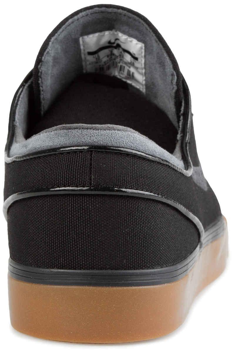 Nike SB Zoom Stefan Janoski Canvas Shoes (black anthracite gum)