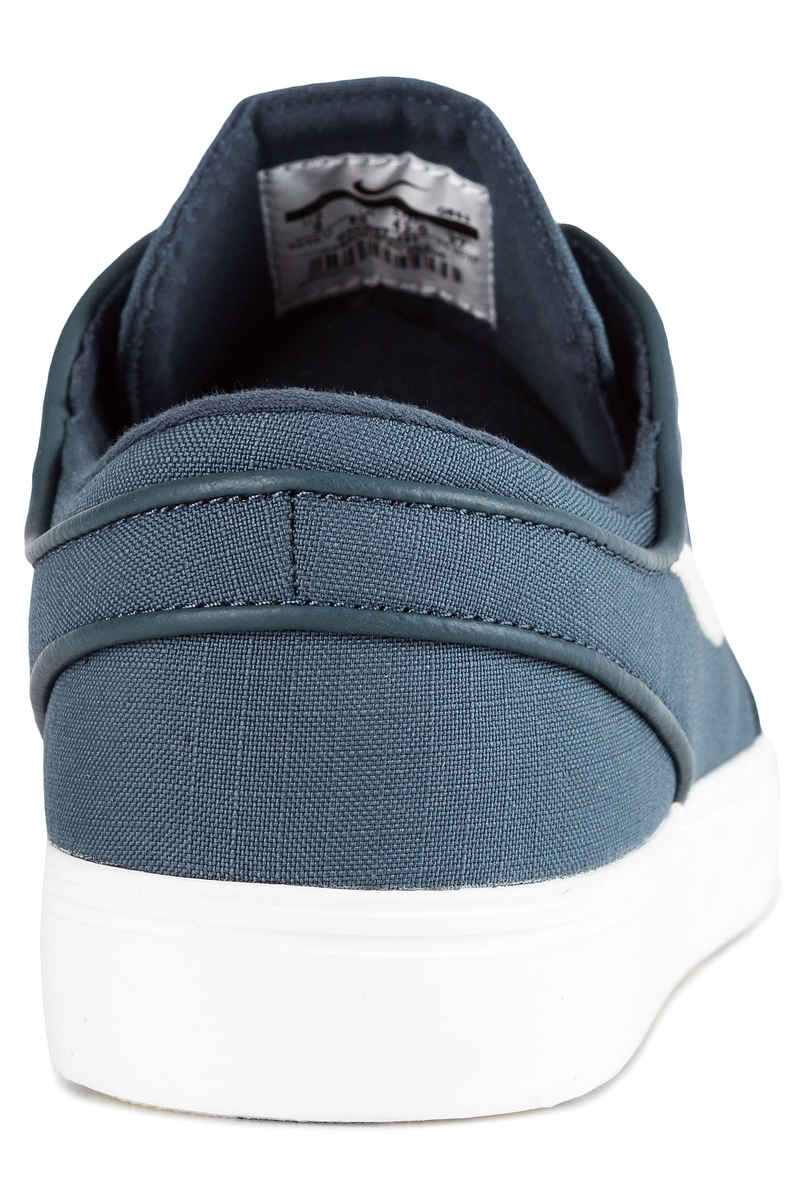 Nike SB Zoom Stefan Janoski Canvas Shoes (thunder blue light bone)