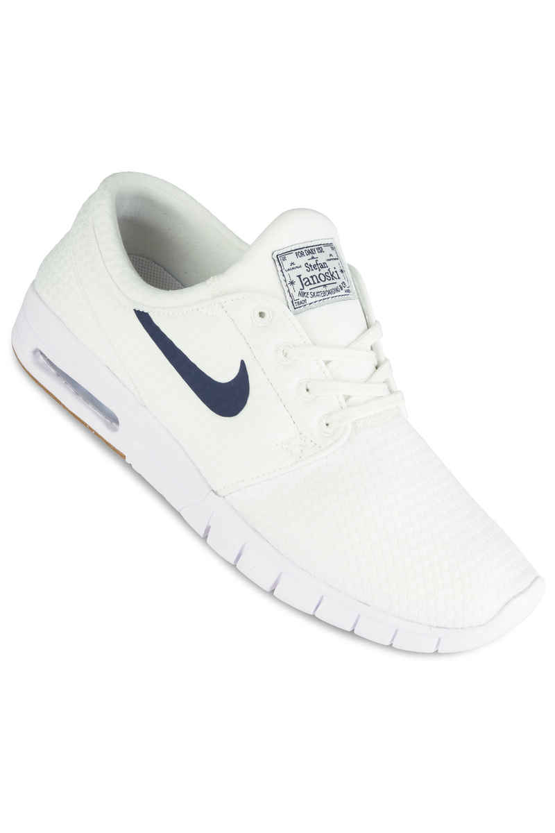 Nike SB Stefan Janoski Max Shoes (summit white thunder blue)