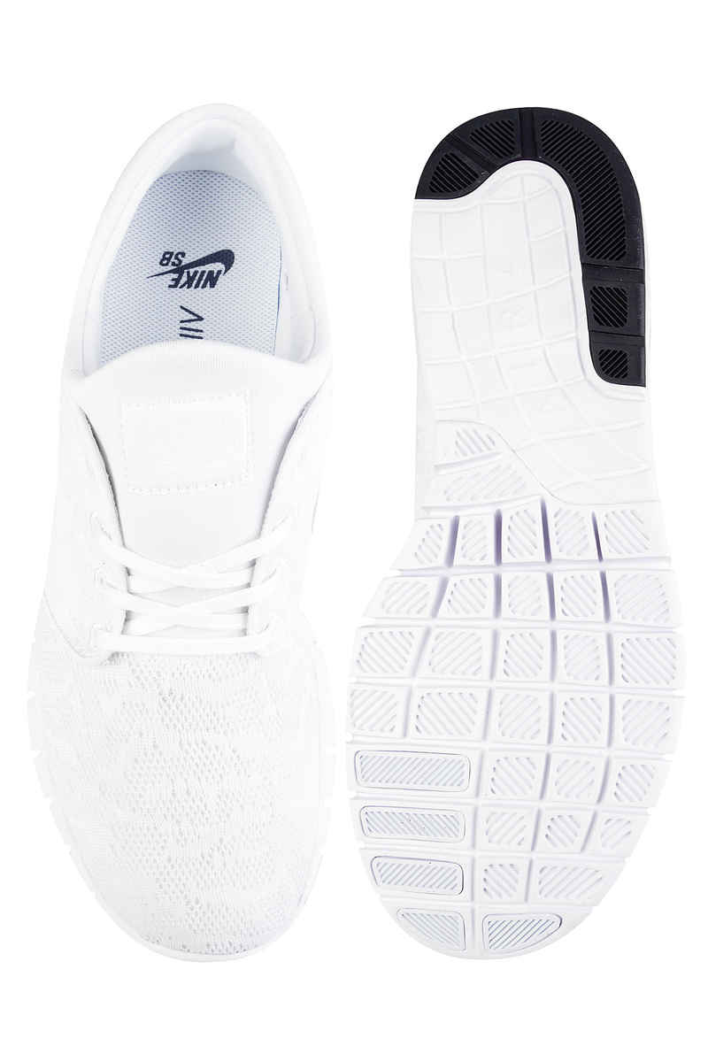 Nike SB Stefan Janoski Max Schuh (white white obsidian)