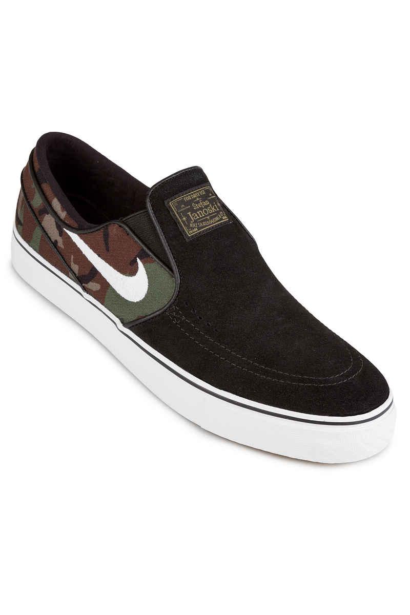 Nike SB Zoom Stefan Janoski Slip Schuh (black white multi)