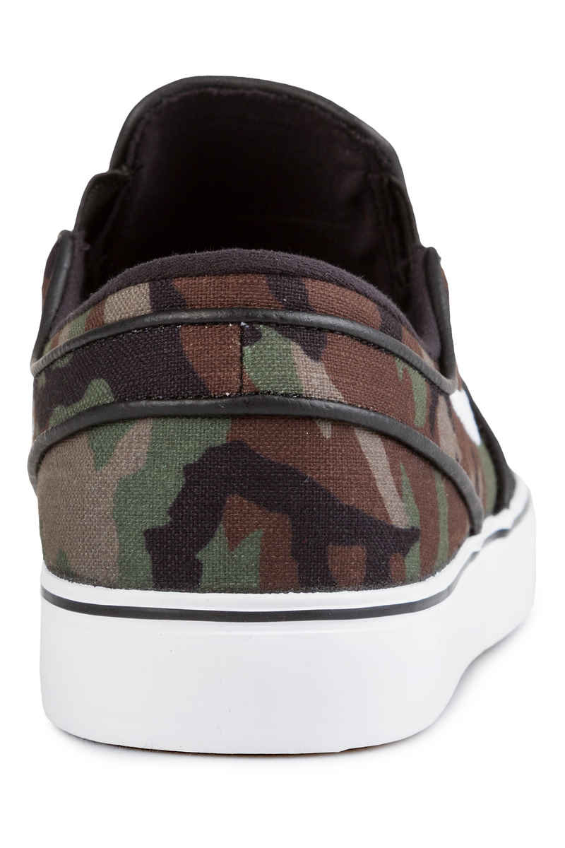 Nike SB Zoom Stefan Janoski Slip Shoes (black white multi)