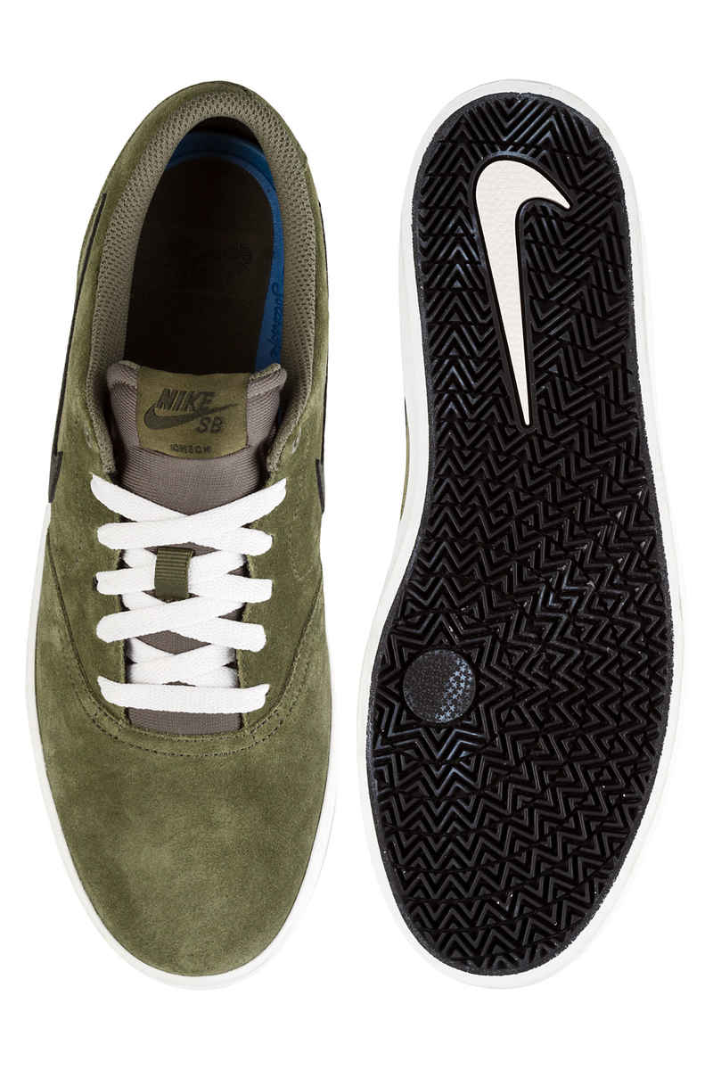 Nike SB Check Solarsoft Shoes (medium olive sequoia)
