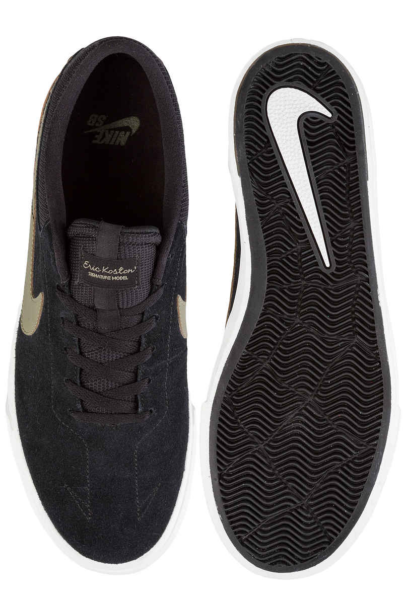 Nike SB Koston Hypervulc Schoen (black medium olive)
