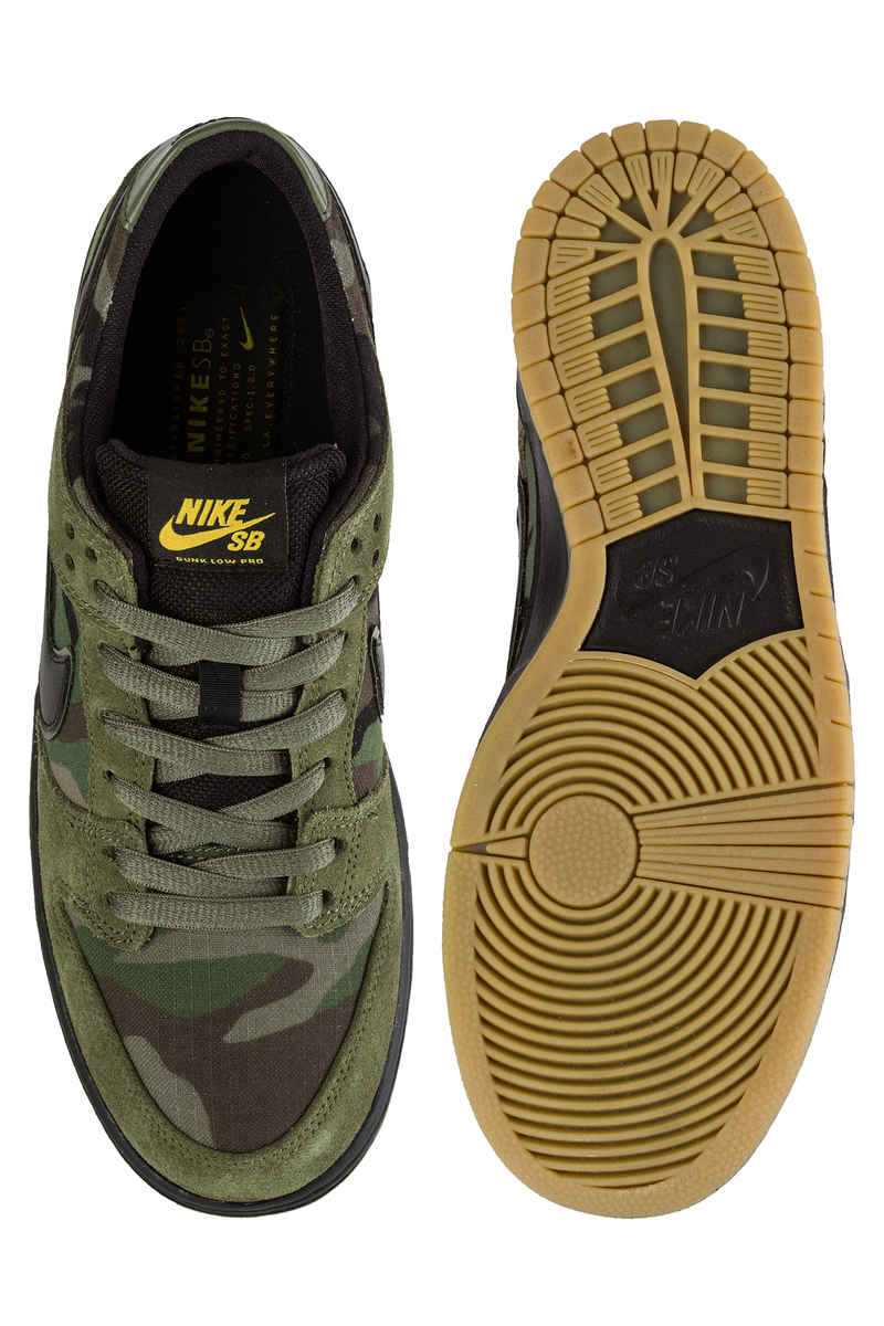 Nike SB Dunk Low Pro Schuh (medium olive black)