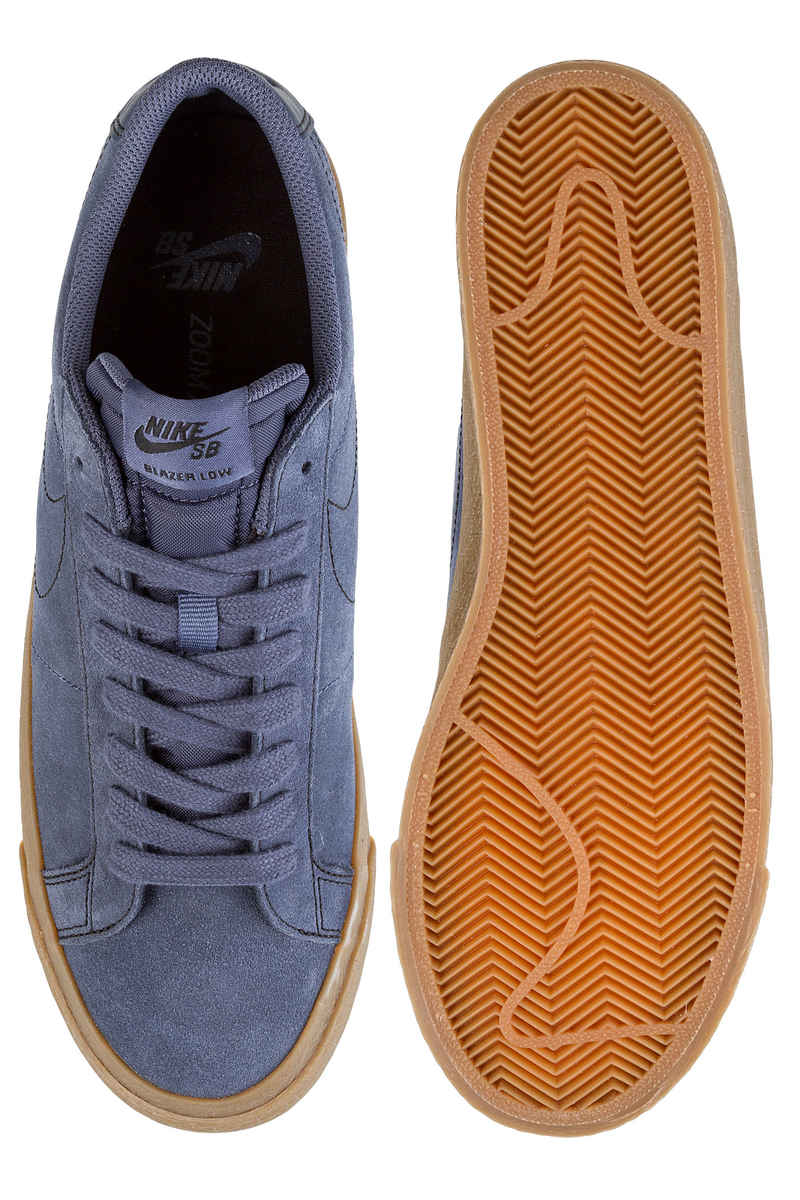 Nike SB Zoom Blazer Low Shoes (thunder blue gum)