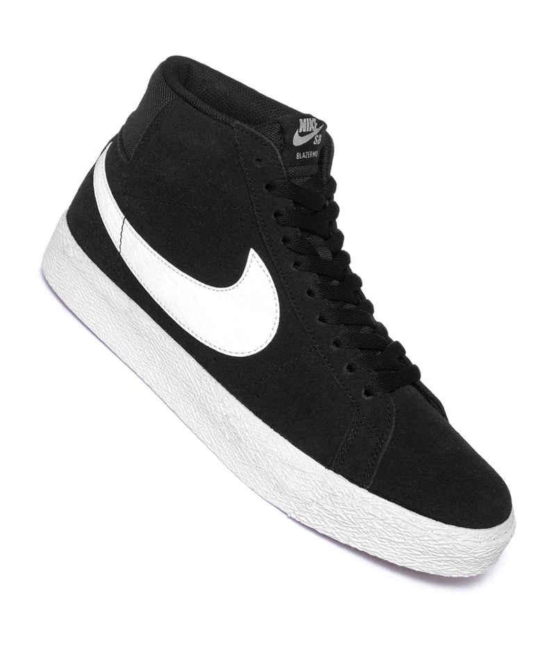 Nike SB Zoom Blazer Mid Chaussure (black white)