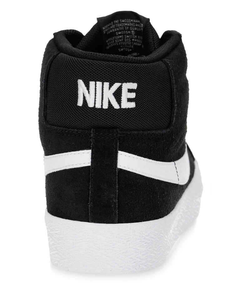 Nike SB Zoom Blazer Mid Shoes (black white)