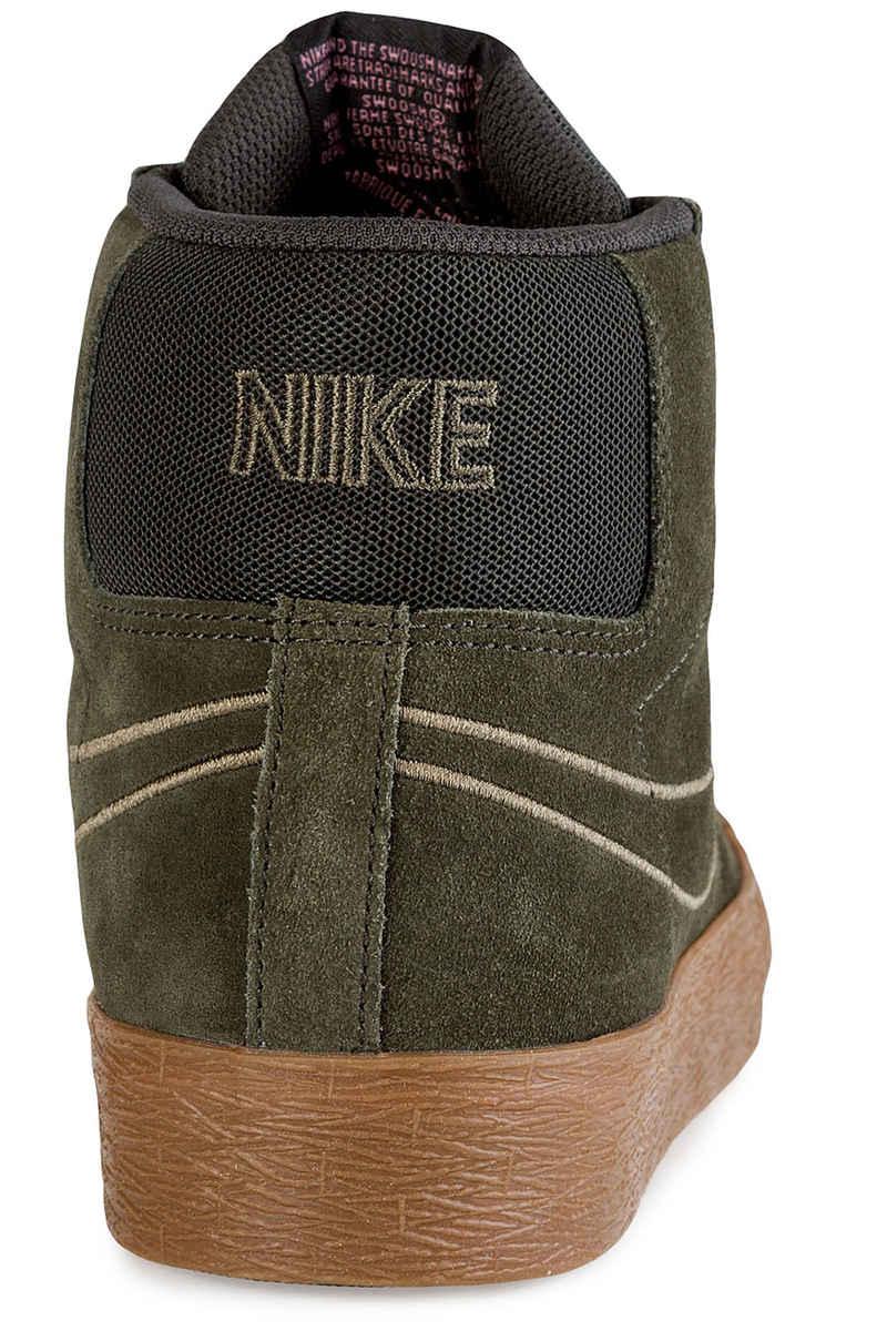Nike SB Zoom Blazer Mid Shoes (sequoia medium olive gum)