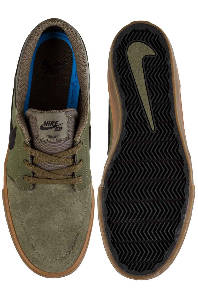 Nike medium SB Portmore II Chaussure medium Nike olive Noir Paiement Sans Visa 25c8ba