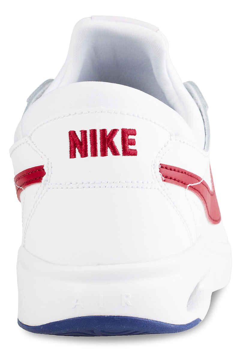Nike SB Air Max Bruin Vapor Schuh (white gym red)
