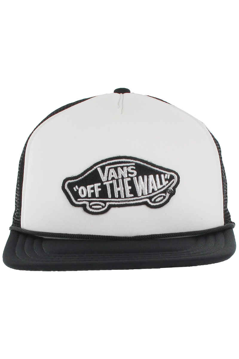 Vans Classic Patch Trucker Cap (white black)