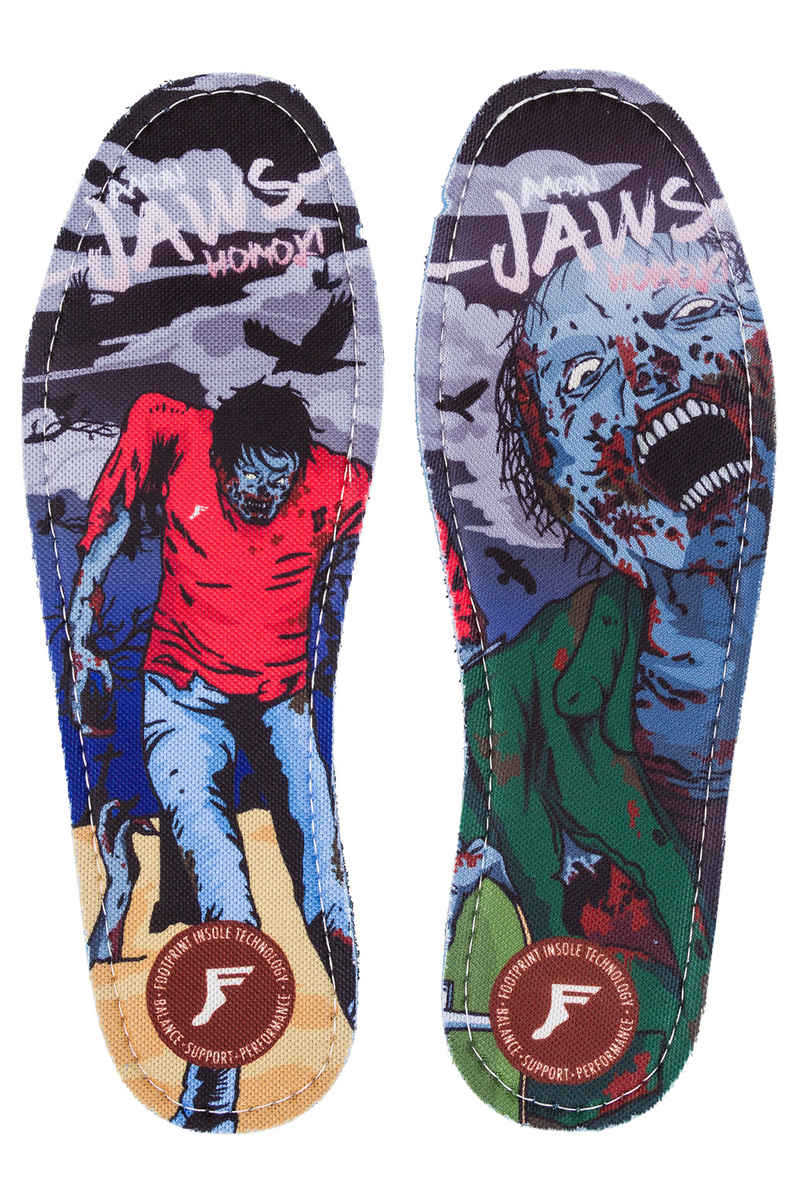 Footprint Jaws Zombie Hi Profile King Foam Plantilla (multi)