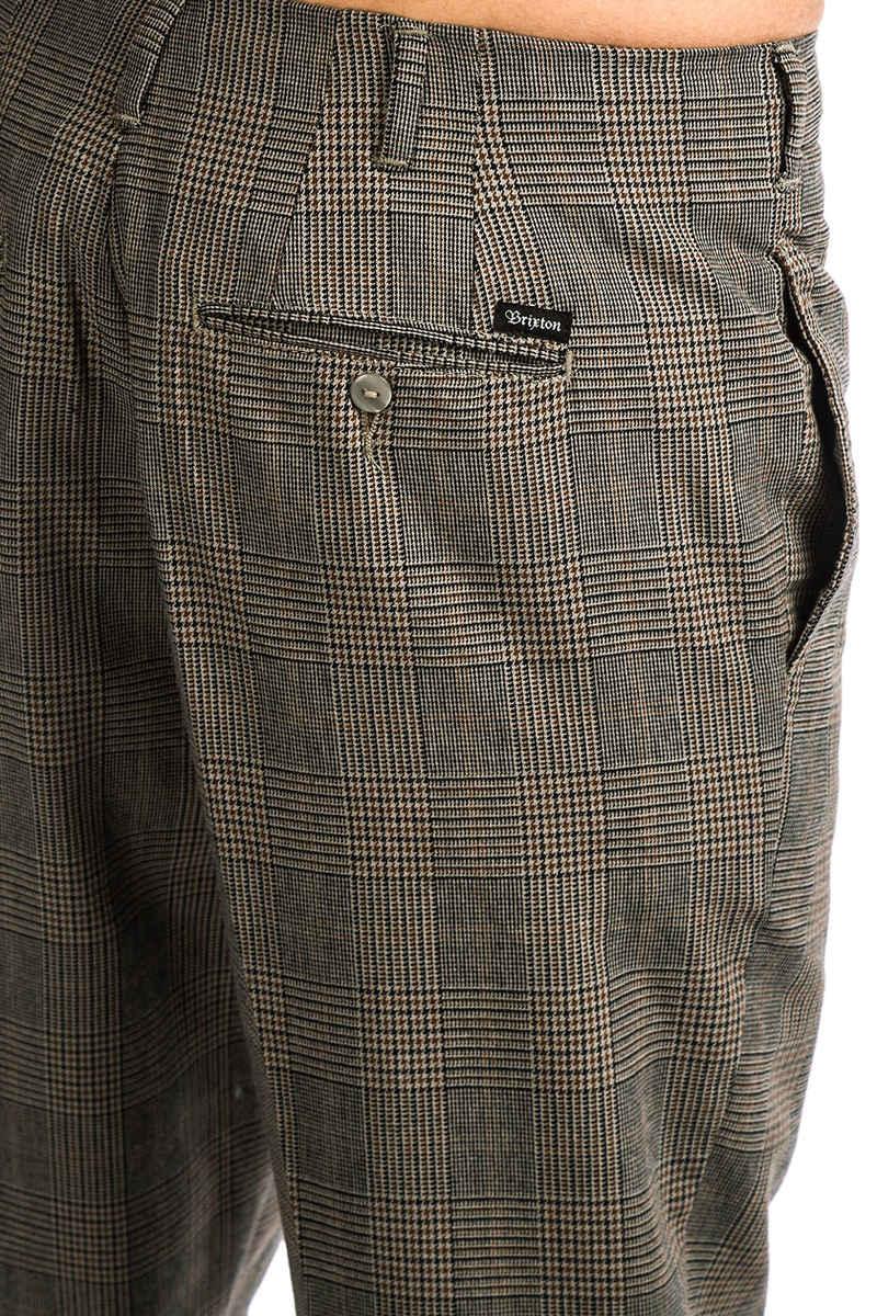 Brixton Regent Trouser Hose (grey plaid)