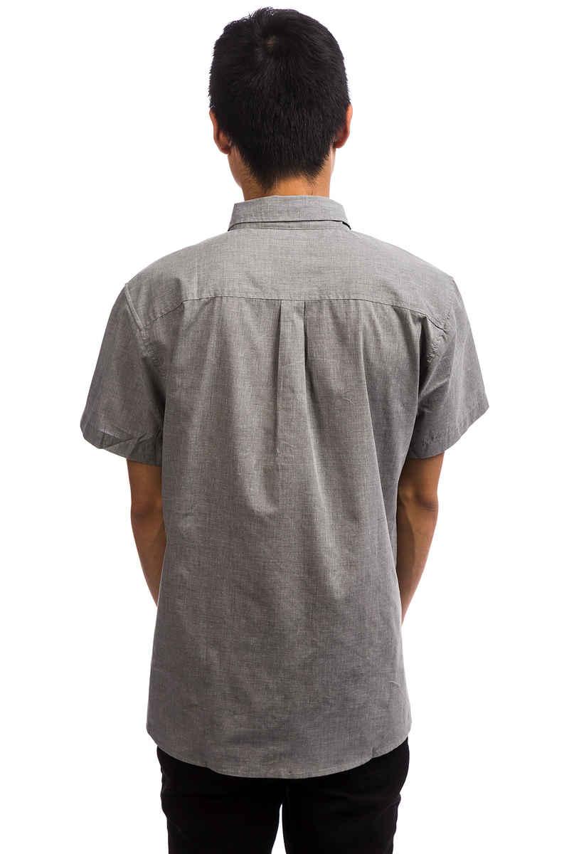 Brixton Central Kurzarm-Hemd (heather grey)