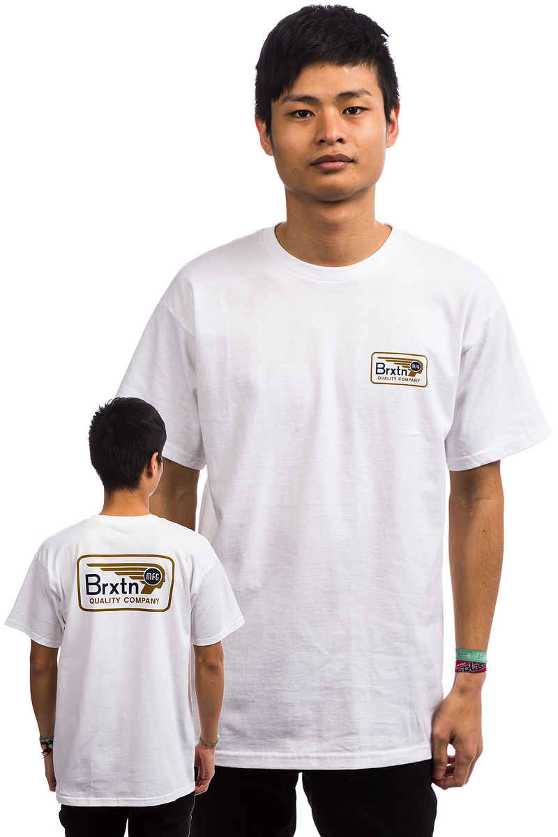 Brixton Messenger T-Shirt (white)