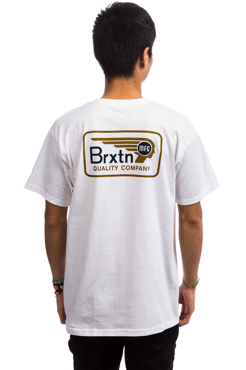 Brixton Messenger T-Shirt (white)