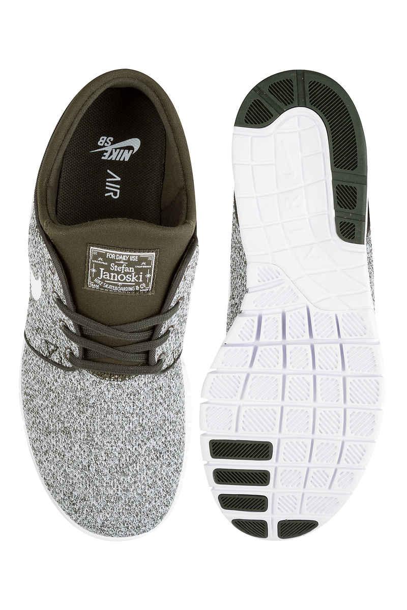Nike SB Stefan Janoski Max Zapatilla (sequoia white)