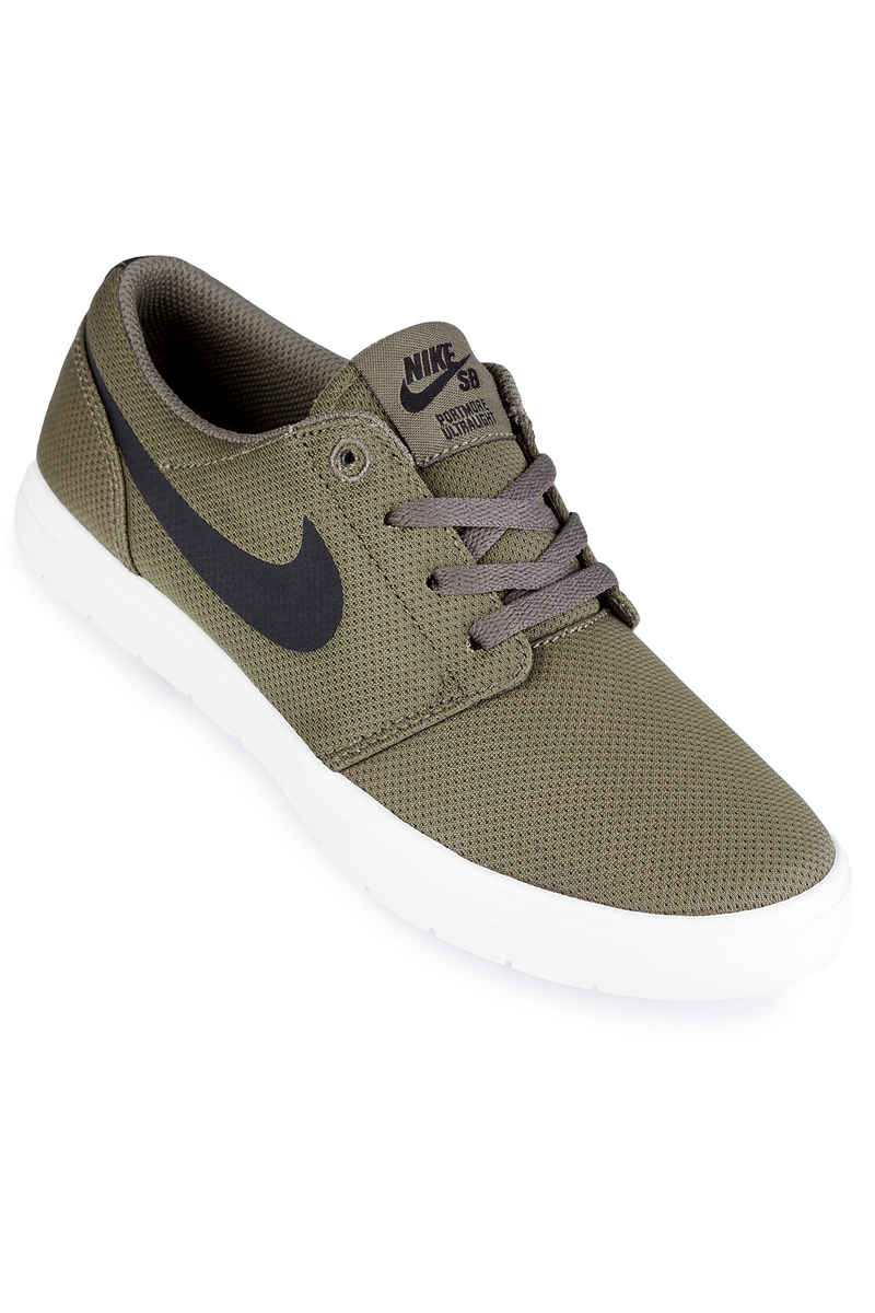 Nike SB Portmore II Ultralight Schuh kids (medium olive black)