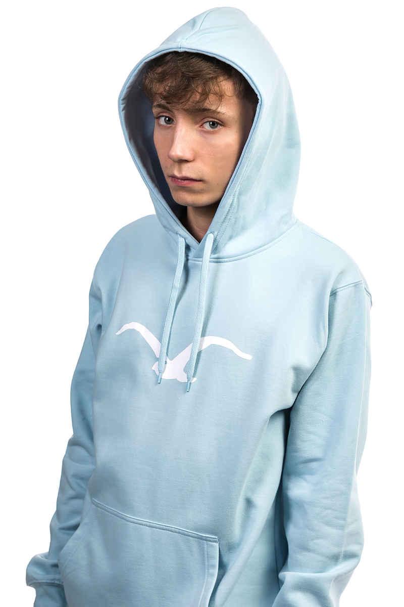 Cleptomanicx Möwe Hoodie (light blue)
