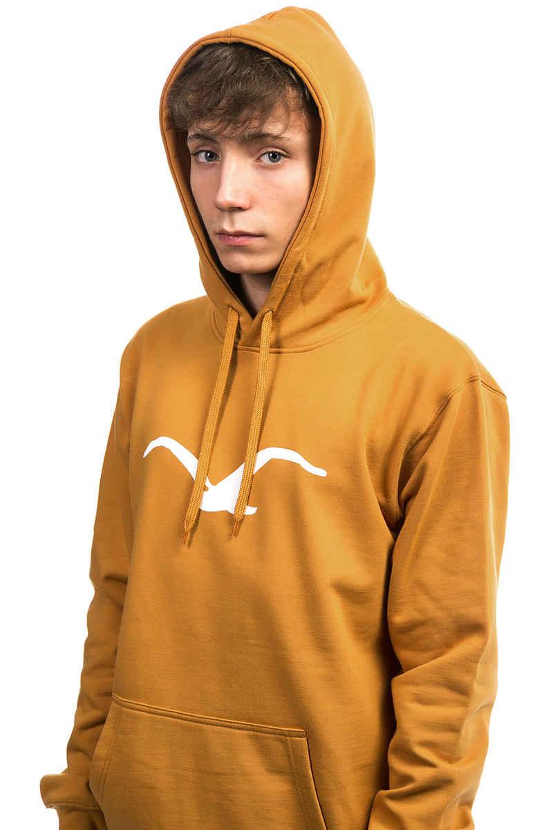 Cleptomanicx Möwe Hoodie (golden yellow)